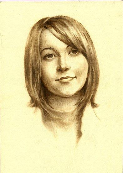 portret dziewczny 2